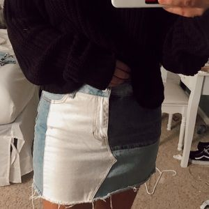 Pacsun 5 pocket mini skirt